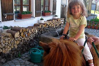 Reiterferien für Kinder in Bayern