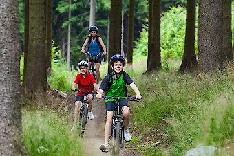 Radfahren im Dreiländereck Bayerischer Wald