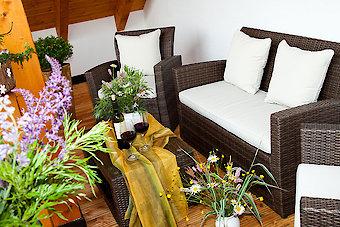 Ferienhaus auf dem Reiterhof Schanzer in Bayern